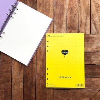 LOVE罫線リフィル(A5) システム手帳