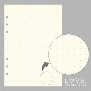 LOVE罫線リフィル(A5)