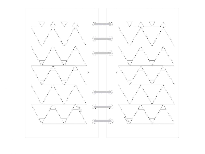 バイブル システム手帳リフィル ウィークリー